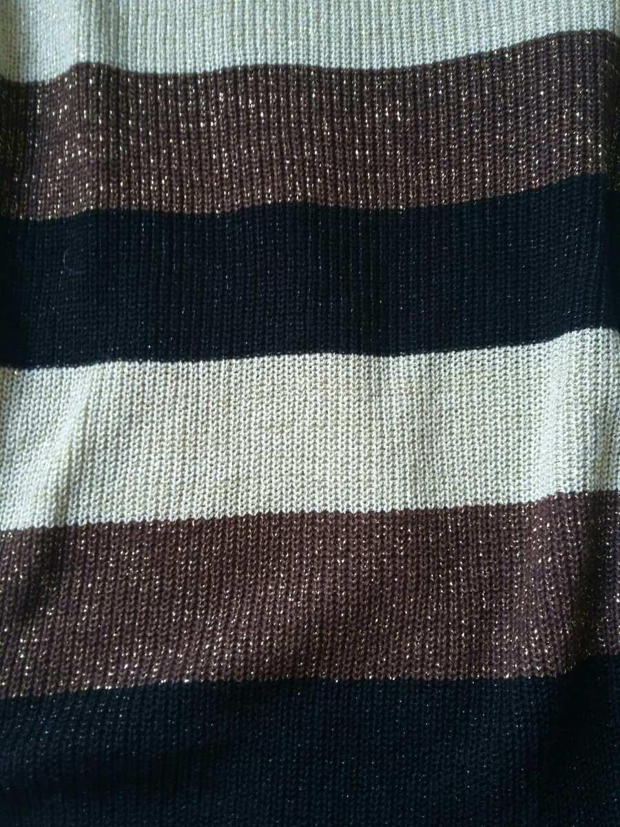 e7415cd28 blusa frio linha manga longa marrom dourada. Carregando zoom.