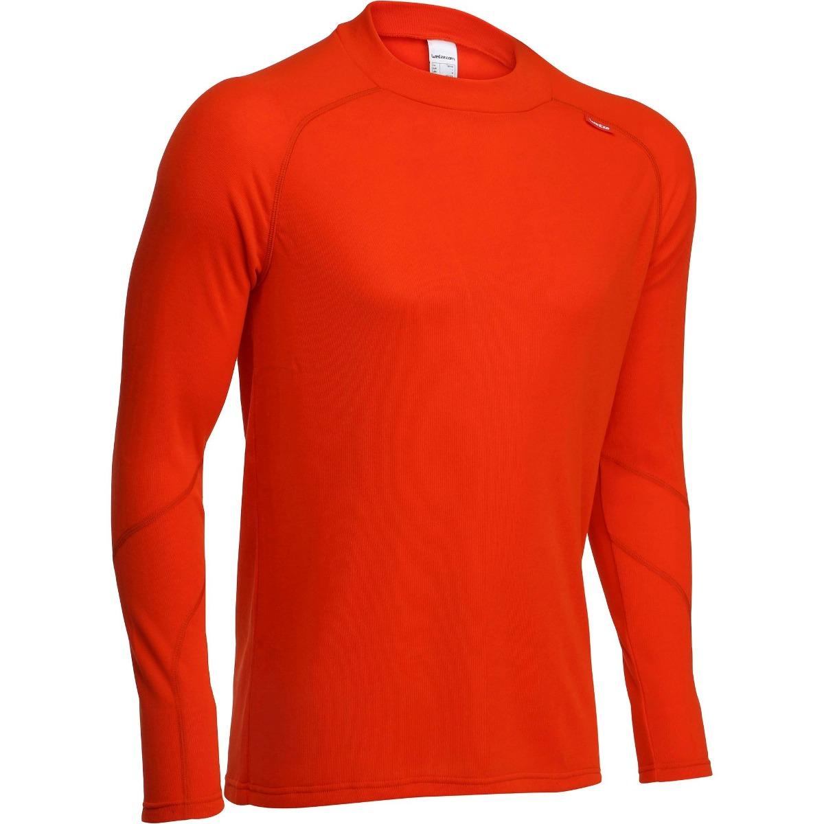 105c9743d1fb1 blusa frio masculina segunda pele isolamento térmico laranja. Carregando  zoom.