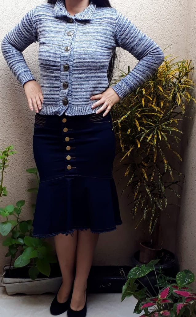 1f26d8aa87 blusa frio trico tricot comprida roupas femininas inverno. Carregando zoom.