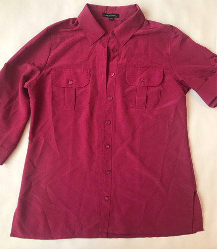 blusa fucsia talla s en excelentes condiciones