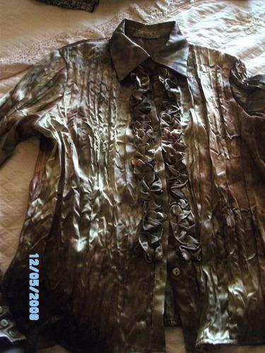 blusa give nueva talla l colores dorados