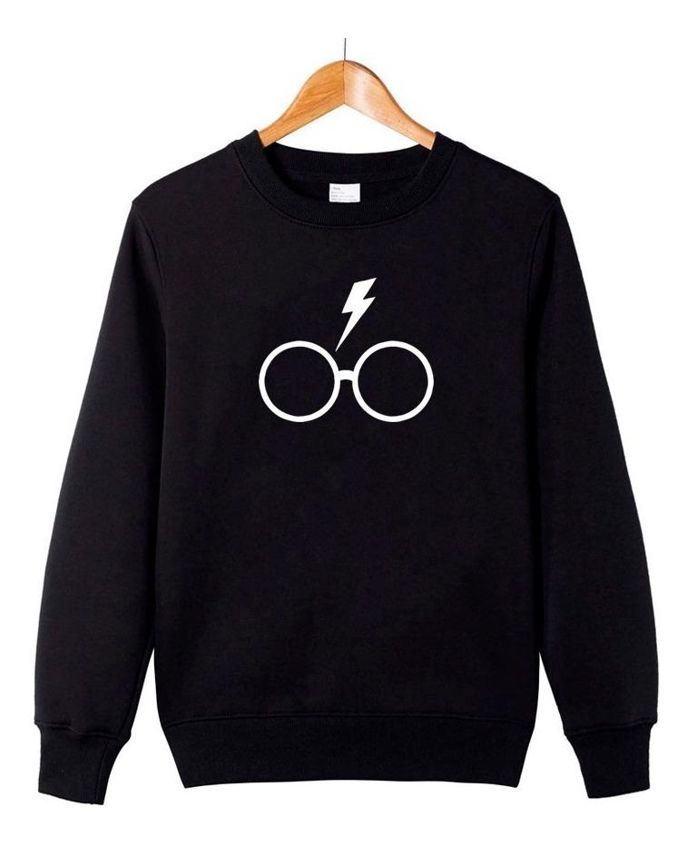 441225f030a4 Blusa Harry Potter Hp Feminino Moletom Inverno #gr17 - R$ 109,00 em ...