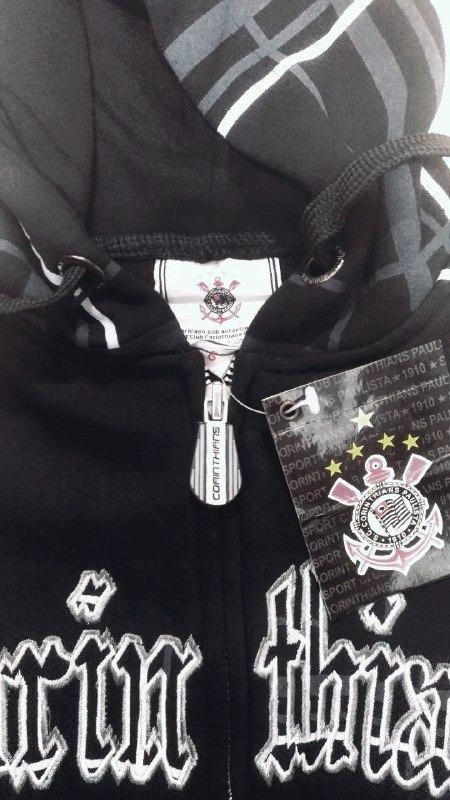 Blusa Infantil Corinthians Moletom Com Capuz Original - R  89 5f753aafbd831