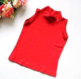 e5e5757775 Blusa Regata Com Mini Gola Com Strech Material Que Estica - Calçados ...