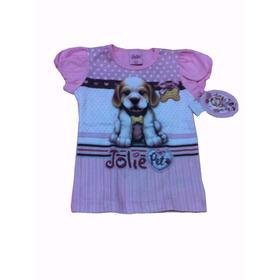 Blusa Infantil Jolie Pet