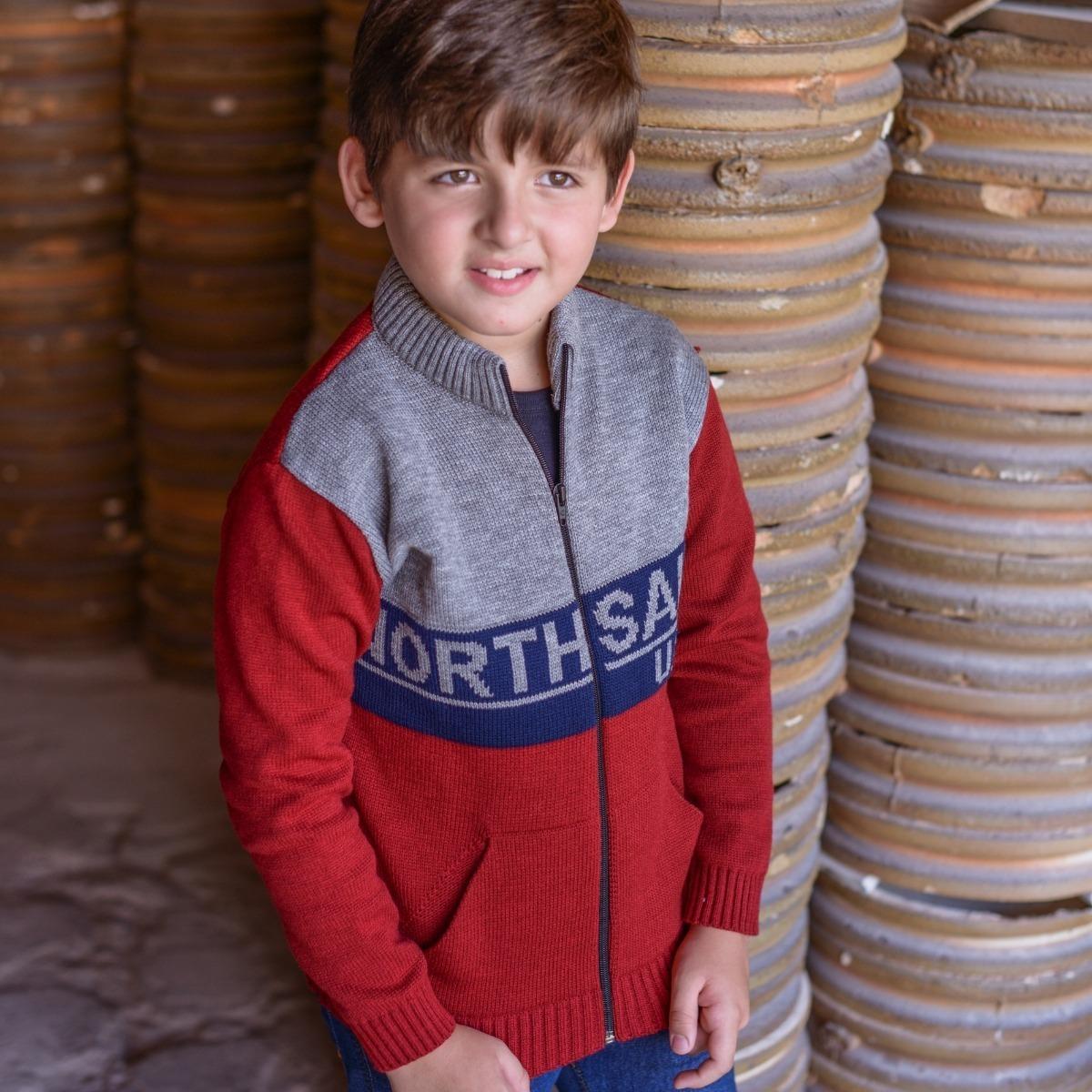 4413f57fb0 blusa infantil masculina casaco de menino malha grossa trico. Carregando  zoom.