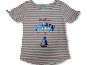 0333a7a07 Blusa Educação Infantil Tamanho 8 - Camisetas 8 Rosa no Mercado Livre Brasil