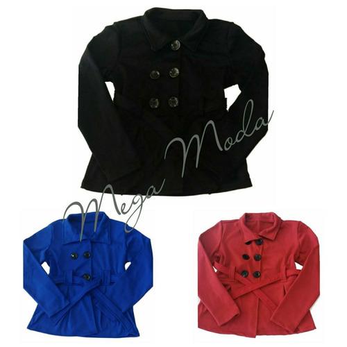 blusa inverno (sobretudo) feminino manga comprida casaco fg