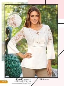 5ce3f268 Blusa Color Ivory Cklass Con - Ropa, Bolsas y Calzado en Mercado Libre  México