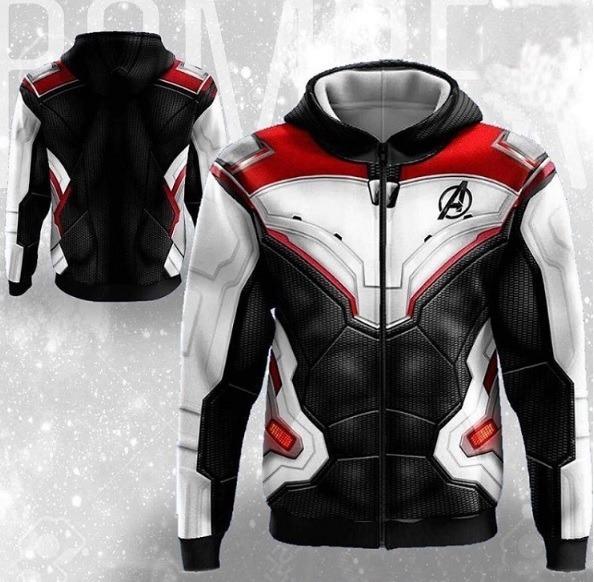 0e62cd7c2d Blusa Jaqueta Casaco Avengers Endgame Cosplay Vingadores - R  228