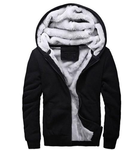 blusa jaqueta de frio feminina com capuz com forro de lã