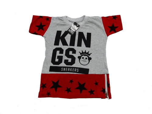 blusa kings infantil swag masculina
