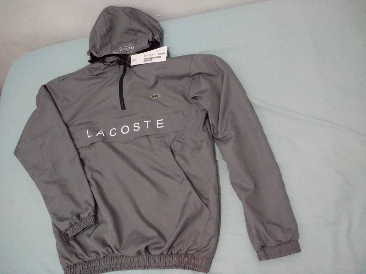 Blusa Lacoste Estilo Corta Vento Jaco - R  229,90 em Mercado Livre 4716fcb0b3