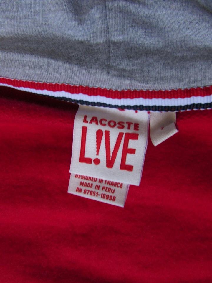 745dc215ab0 Blusa Lacoste Live Peruana Mais Um Brinde. Promocao - R  99
