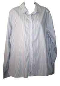 2f886aabf656 Blusa Land´s End Camisa Dama Manga Larga Talla 16 Eu Seminue