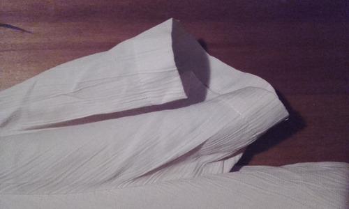 blusa lauren lee manga corta usada para dama talle l de hilo