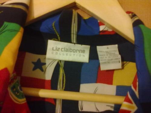 blusa liz claiborne talla m