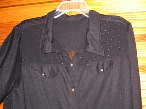 4083e9242 Blusa Negra Con Volados Atras Camisas Chombas Blusas - Ropa y ...