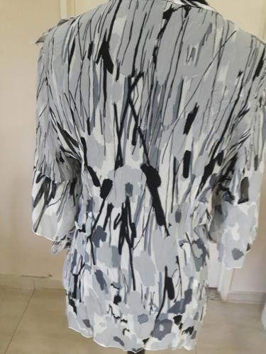 blusa manga 3\4  de gasa