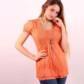 2cc30b31fd3b Blusa Manga Corta Camisa Remera Importada 100% Algodón 60346