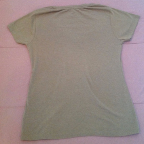 blusa manga curta nude - marfino - tam: gg - c.385