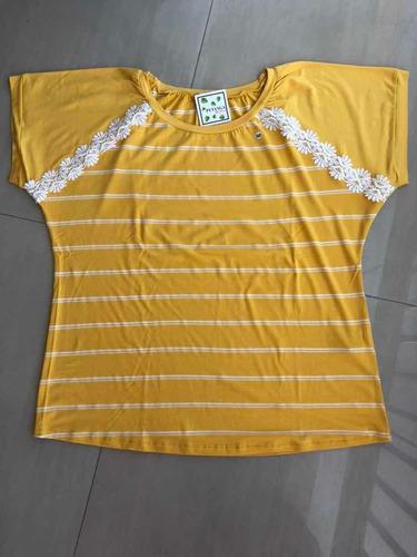 blusa manga curta plus size tamanho 52