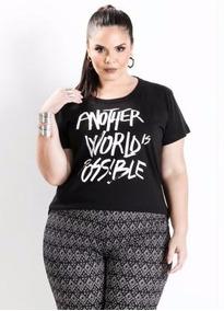 bd2289558 Blusas Femininas Marguerite Plus Size - Calçados, Roupas e Bolsas no  Mercado Livre Brasil