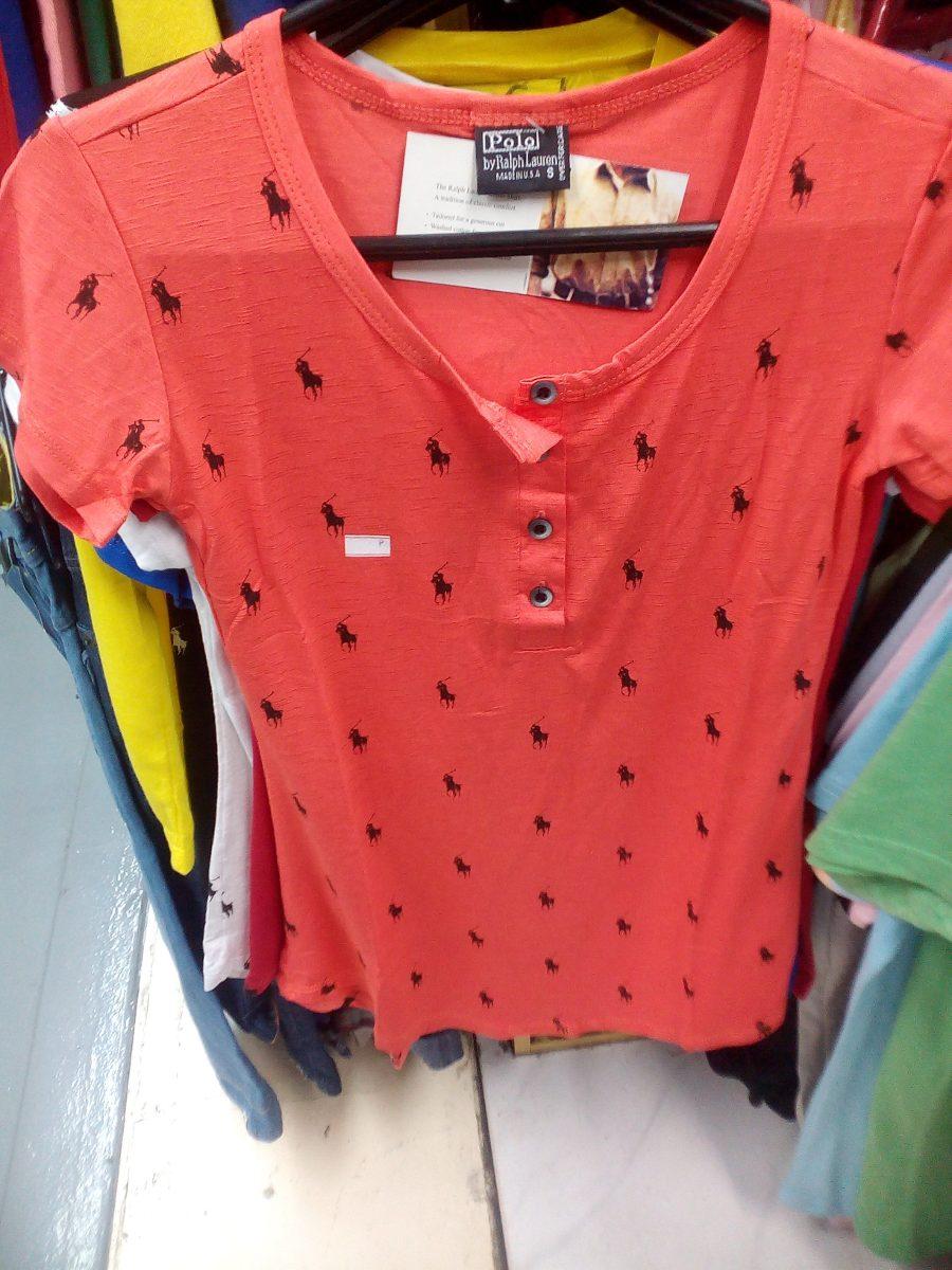 blusa manga curta ralph lauren feminina. Carregando zoom. 91638a20c96