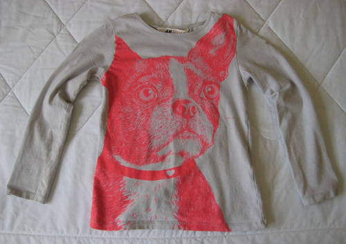 blusa manga larga niña  6-8 años marca h&m (made in india)