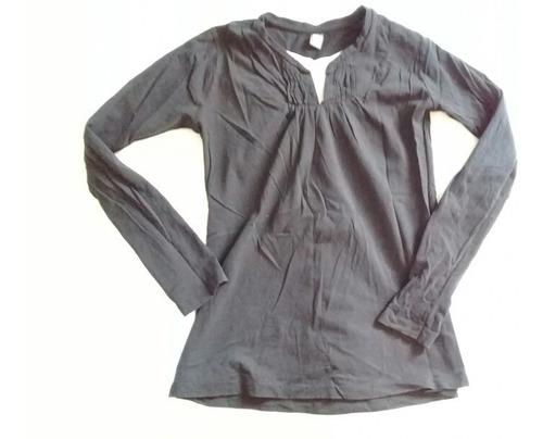 blusa manga larga zara kids para dama o niña