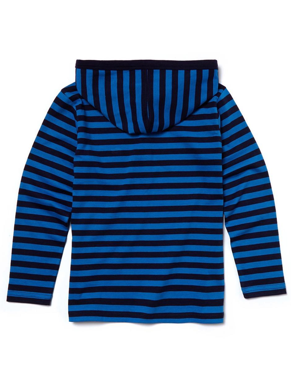 blusa lacoste infantil manga longa listrada azul com capuz. Carregando  zoom... blusa manga longa. Carregando zoom. 7205fb2ce5
