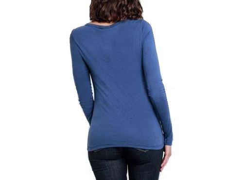 blusa manga longa  malha cativa