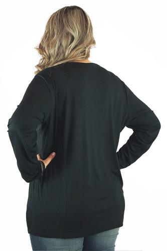 blusa manga longa roupa