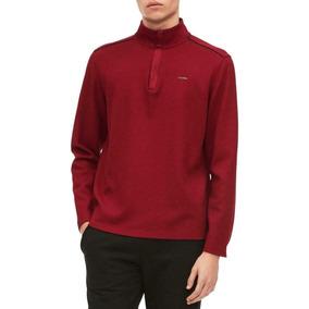 c88ac63c4d Blusa Masculina Calvin Klein Original Ck Vermelha Tam M