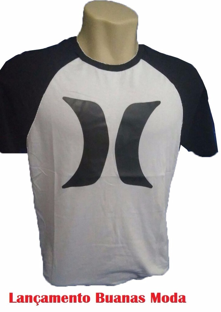 Blusa Masculina Kit 10 Camisa Hurley Nike adidas Surfe - R  189 300bc95a64ad6