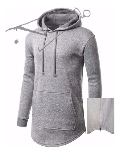 blusa masculina oversized swag long line vc stilo
