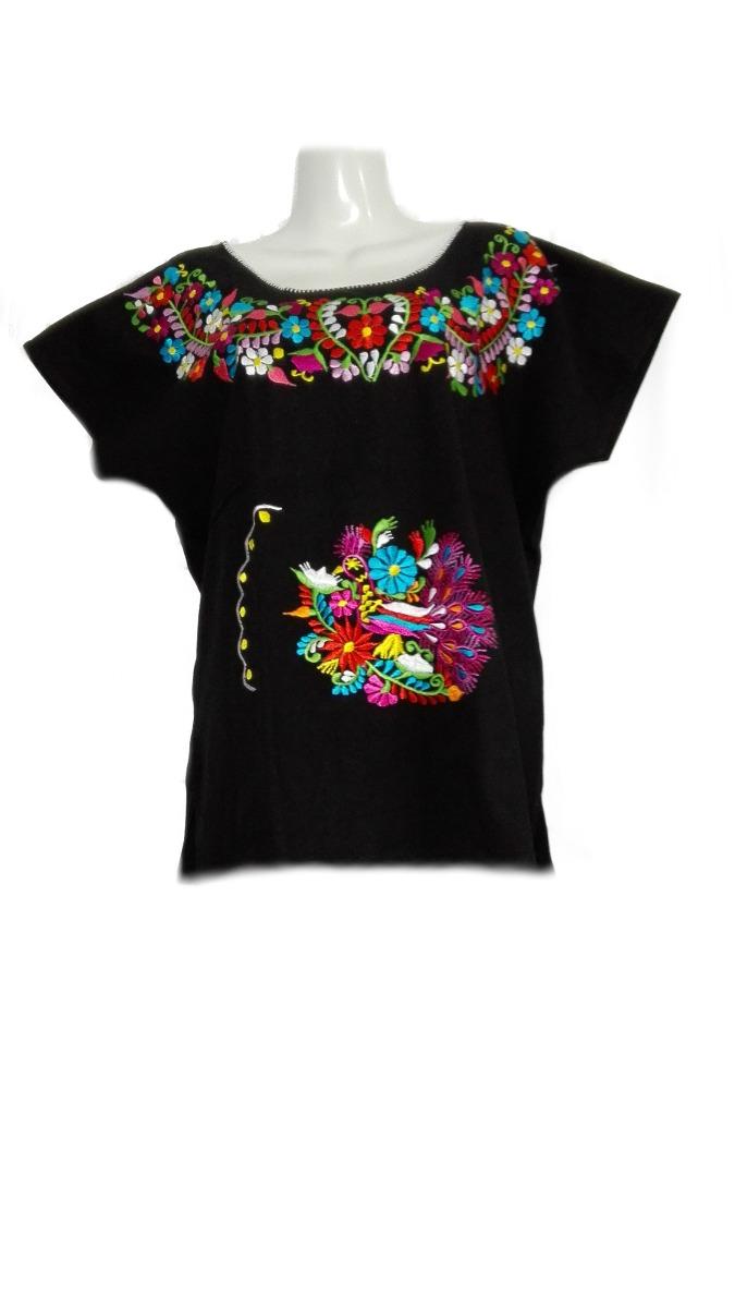 0132a9c187 blusa mexicana bordada típicas regionales artesanal colores. Cargando zoom.