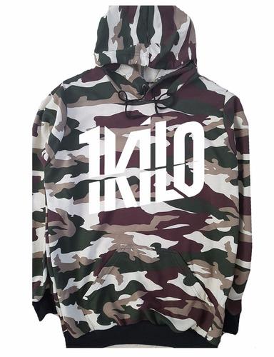 blusa moletom 1kilo camuflado banda musica hip hop rapper!!!
