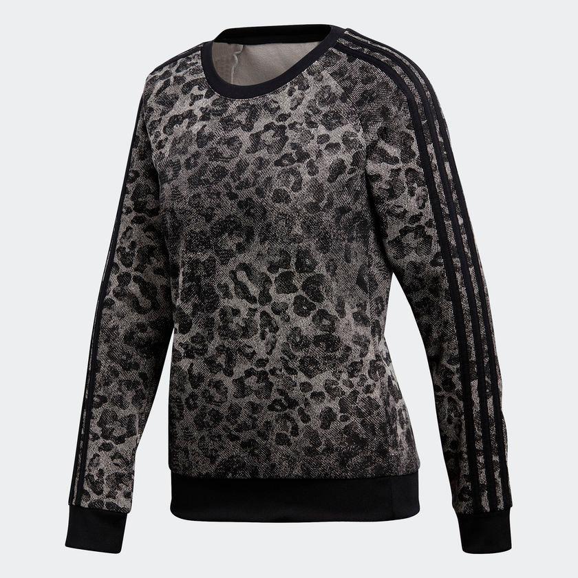 00befe1d1e7 blusa moletom adidas essentials w ess aop sw original. Carregando zoom.