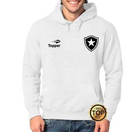 315ce48633e Blusa Moletom Agasalho Torcedor Botafogo Topper Futebol