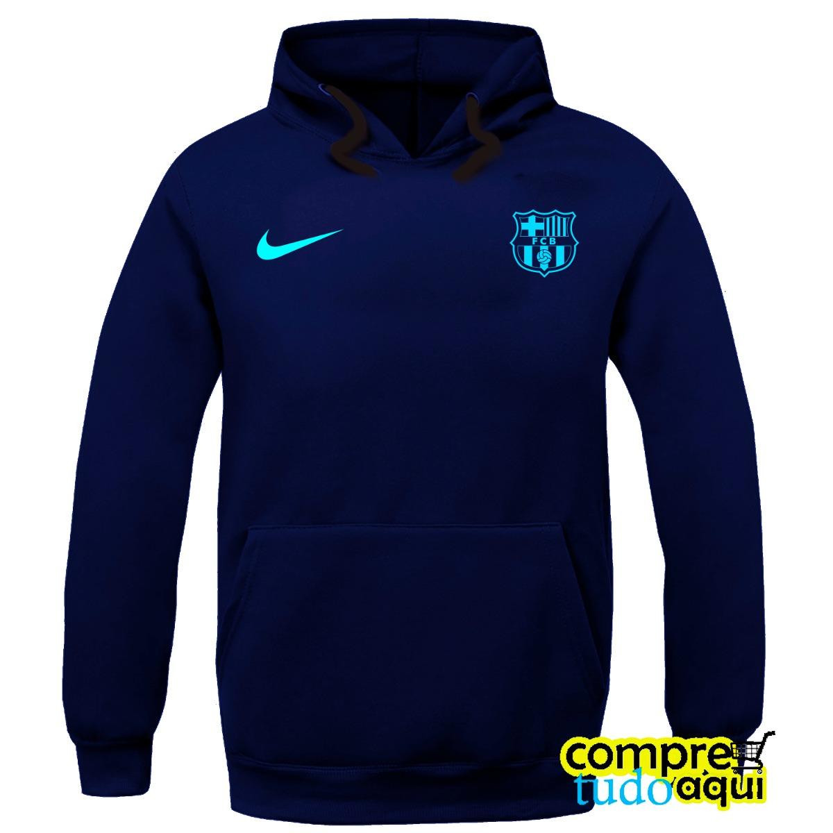 2c2fed7b37cbb blusa moletom barcelona futebol - casaco de frio moleton. Carregando zoom.