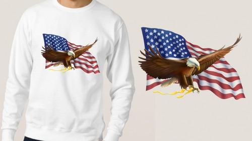 blusa moletom casaco frio usa bandeira estados unidos top