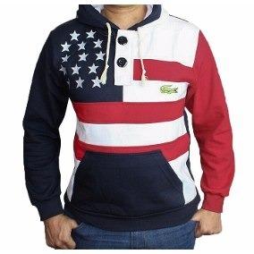 441934d926 Blusa Moletom De Marca Bandeira Americana Estados Unidos - R  89