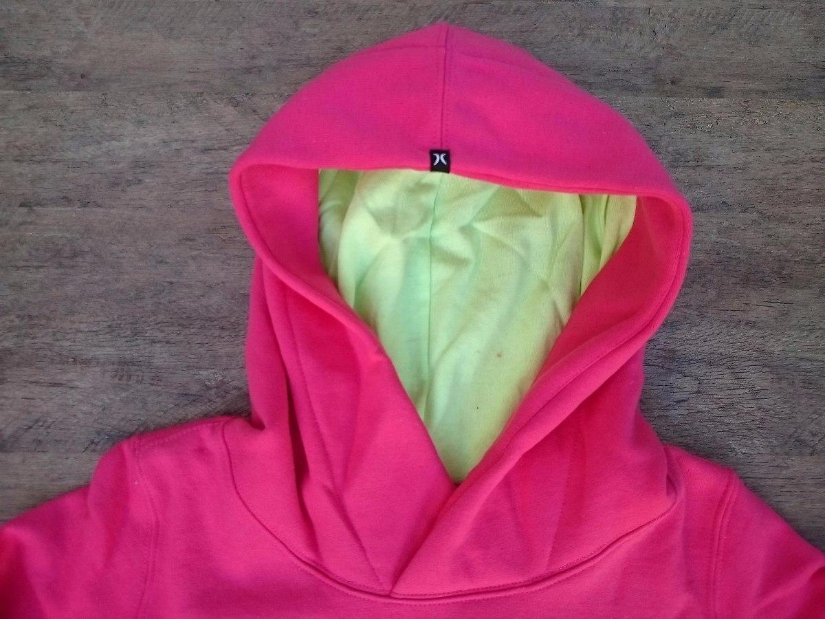 blusa moletom feminina hurley essential - modelo canguru. Carregando zoom. f51936b0b2c