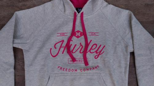 blusa moletom feminina hurley freedom girls - modelo canguru. Carregando  zoom. 1d66249772b