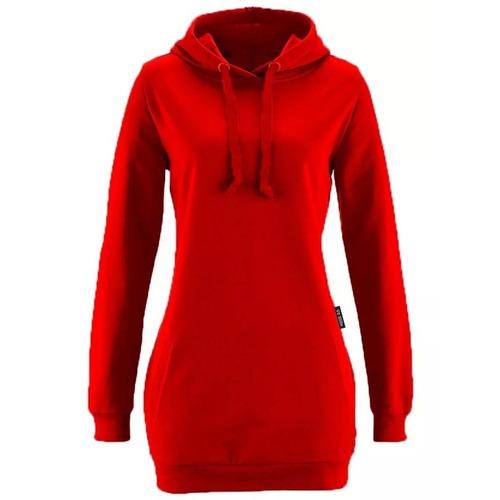 blusa moletom feminina longline b04 casaco oversized vcstilo