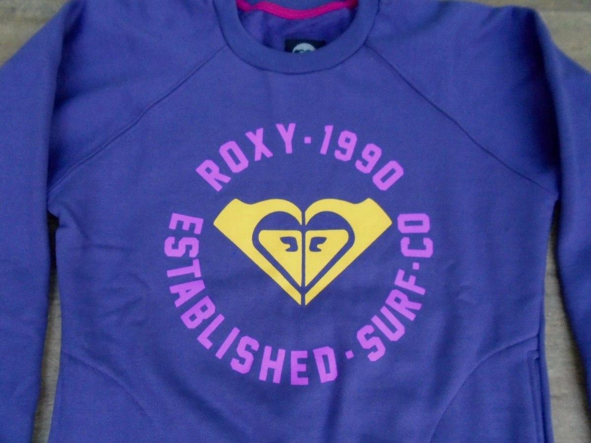 6e96769896993 blusa moletom feminina roxy quiksilver 1990 com bolso linda! Carregando  zoom.