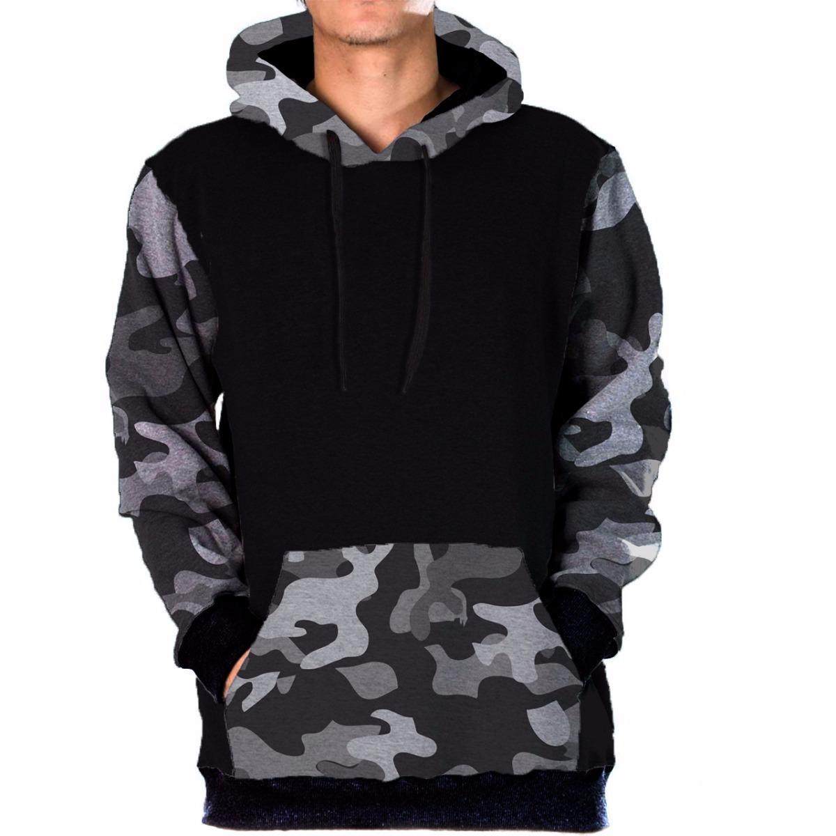 blusa moletom frio camuflado digital militar skate style  3. Carregando  zoom. ad0dbcbc096