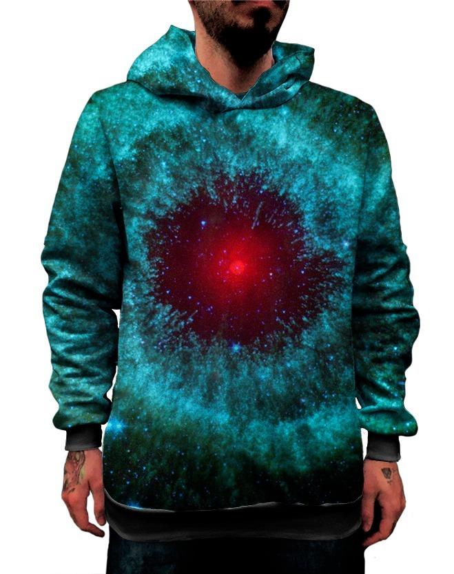 Blusa Moletom Galáxia 3d Tumblr Planetas Estrelas Espaço Lua