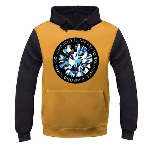blusa moletom grizzly diamond primitive dgk casaco unissex